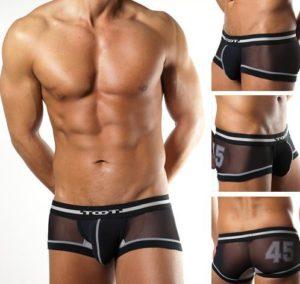 New-Brand-black-Men-s-Underwear-Sexy-Boxer-Brief-Shorts-transparent-Mesh-M-L