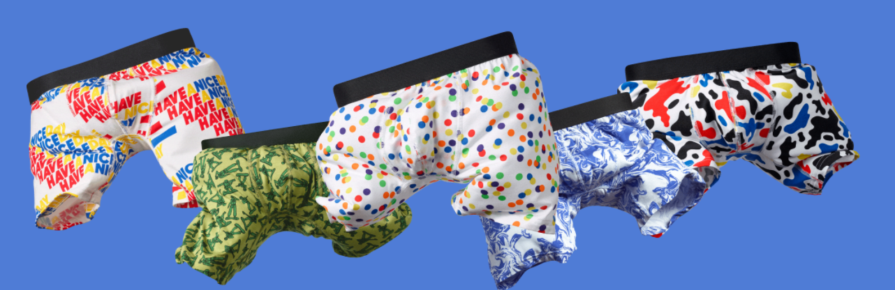 boxer design confortable de meundies