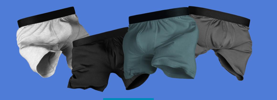 boxers confortables classique meundies